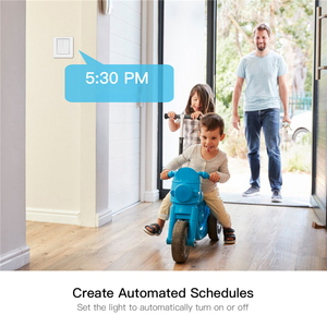 Image 4 - Wifi Smart Home Licht Schakelaar Drukknop Smart Leven/Tuya App Afstandsbediening Werkt Met Alexa Google Thuis Voor voice Control