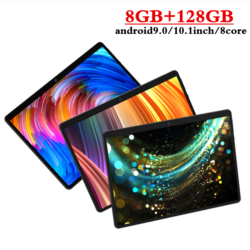 2020 NEW 10.1 inch Tablet Pc Octa Core 3G 4GLTE Phone Call Google Market GPS WiFi Bluetooth Tablets 8GB+128GB Android 9.0 tablet