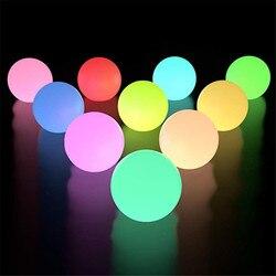 2 шт. 1 шт. RGB плавающий светильник для бассейна 3 дюйма 7,8 см RGB меняющий цвет светодиодный светильник для бассейна s IP67 игрушка для ванной для у...