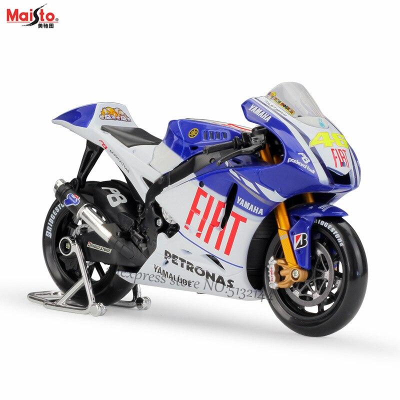 Yamaha Factory Racing 1//10 Scale Diecast Model Motorcycle 2016 Moto GP #99 Jorge Lorenzo