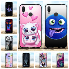 For Huawei Nova 3i Case Soft TPU Silicone nova INE-LX1r INE-LX2 Cover Scenery Patterned Coque