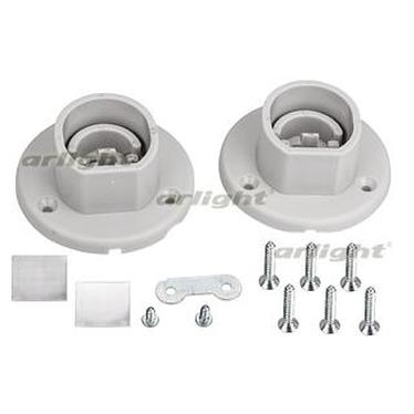 017381 Holder OVAL-PV [Plastic] Package-set. ARLIGHT-LED Profile Led Strip Light/TOP For TOP ^ 03