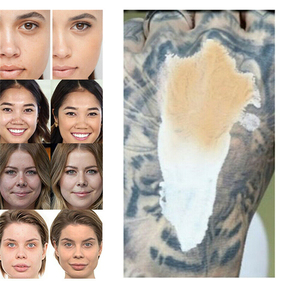 Image 5 - Makeup Color Changing Liquid Foundation Makeup Change To Your Skin Tone By Just Blending TLM Foundation Color Changing maquiagem