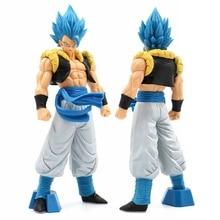 Аниме Dragon Ball Z Супер Saiyan Gogeta синие волосы Dragon Ball ПВХ фигурка Коллекция Модель игрушки