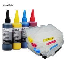 GC21 Cartouche Rechargeable avec Encre De Sublimation pour Ricoh GX2500 GX2050N GX3000 GX3050 GX5000 GX5050N GX7000 Imprimante