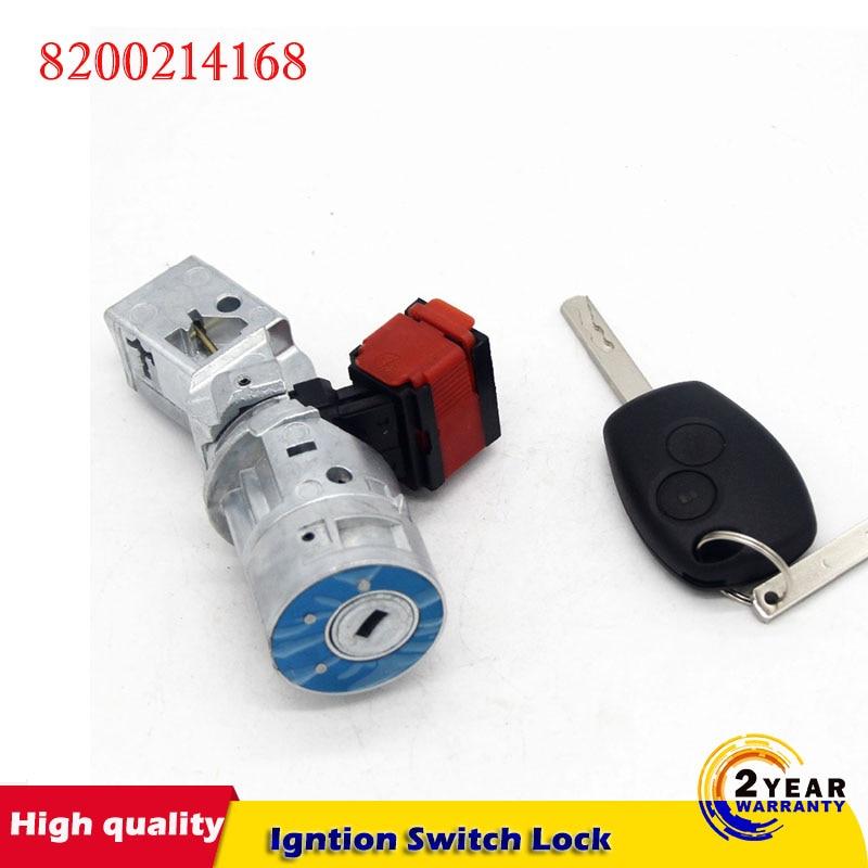 Car Ignition Lock Barrel Starter Switch Key for Renault clio MK3 Modus Kangoo Twingo 2005-2012 8200214168 7701208408 487004184R