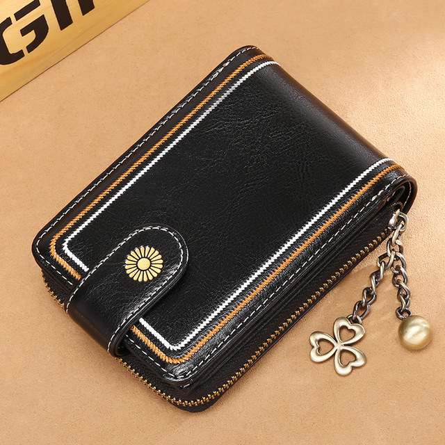 Women's RFID Blocking Card Holder Wallet