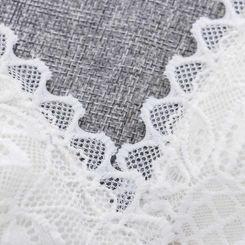 مثير صدرية نسائية الأزهار الدانتيل الصدرية سلك الحرة Bralette الملابس الداخلية الإناث سلس غير مبطن شفاف حمالة العشير