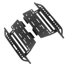 1pair Metal Side Pedal and Receiver Box For 1/10 Jeep Cherokee Wrangler Axial Scx10 90046 90047 90048 Y51E