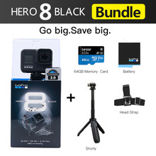 Original GoPro HERO 8 Schwarz Wasserdichte Action Kamera 4K Ultra HD Video 12MP Fotos 1080p Live-Streaming Gehen pro Hero8 Sport Cam(China)