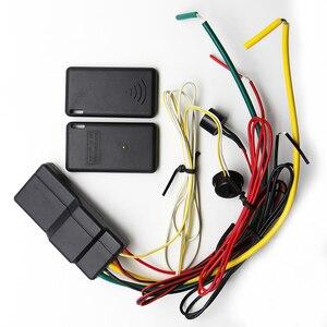 Беспроводной иммобилайзер RFID 2.4GH, блокировка двигателя автомобиля, защита от угона, интеллектуальная схема отключения, сигнализация, инмод...