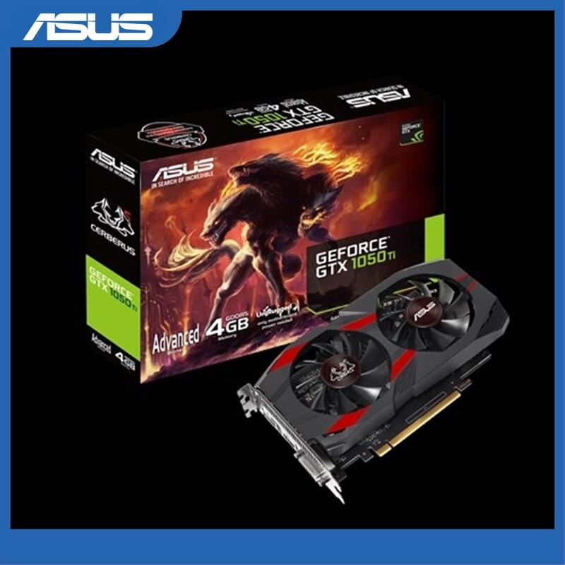 ASUS CERBERUS-GTX1050TI-A4G 4GB GDDR5 oyun grafik kartı NVIDIA GeForce GTX 1050 TI ekran kartı
