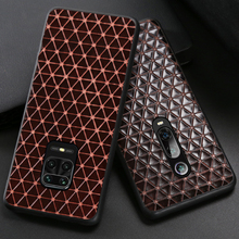 Leather Phone Case For Xiaomi Redmi Note 9S 8 7 K30 Mi 9 se 9T 10 Ultra A3 Lite Mix 2s Max 3 Poco F1 X2 X3 F2 Pro Triangle Cover