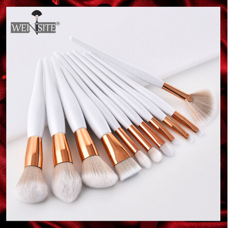 Women's Fashion Makeup Brush Soft Synthetic Head Foundation Eye Shadow Facial Makeup Brush Set Beauty Cosmetics Pincel Maquiagem