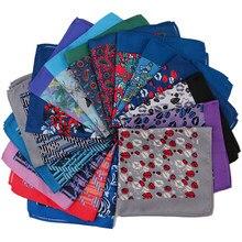 Alfaiate smith masculino bolso quadrados impressos lábios floral paisley negócios peito toalha bolso lenço lenços lenços lenços lenços