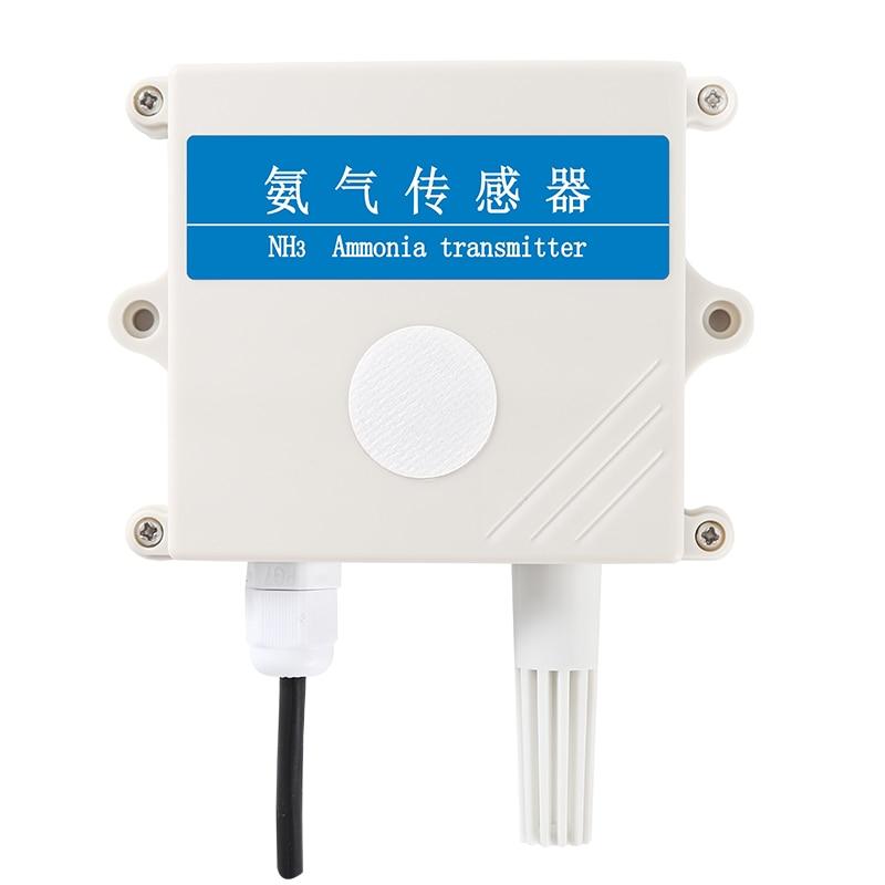 Ammonia Sensor Transmitter NH3 Concentration Detector RS485 4-20mA
