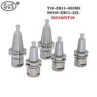 T10 ISO10 Pequim escultura ferramenta especial titular T10-ER11-035MS ISO10-ER11-22L  usado para CNC machine tools