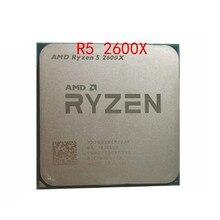 AMD Ryzen 5 2600X R5 2600X 3.6 GHz ستة النواة اثني عشر النواة 95 واط معالج وحدة المعالجة المركزية YD260XBCM6IAF المقبس AM4