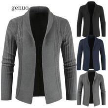 2020 Thick New Fashion Brand Sweater For Mens Cardigan Knitwear Warm Autumn Korean Style Casual Male Designer