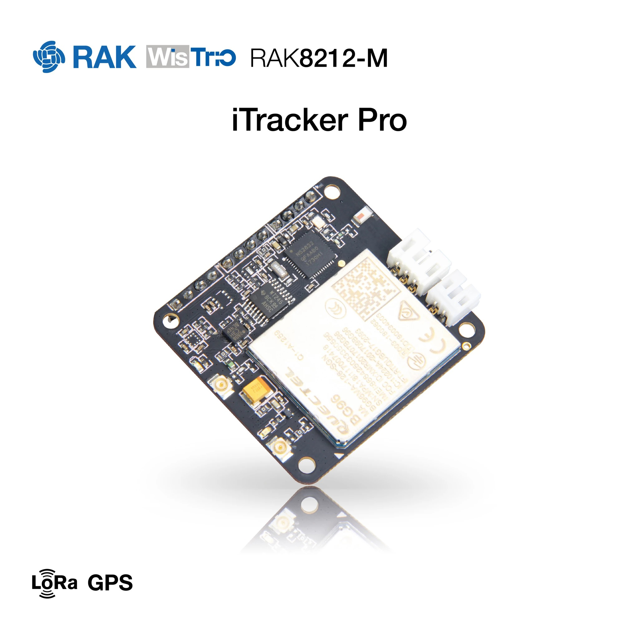 RAK8212-M Low Cost version iTracker Pro Sensor node and GPS BG96 Module BLE+GPS+Bluetooth5 All in one cellular IoT module electronic component