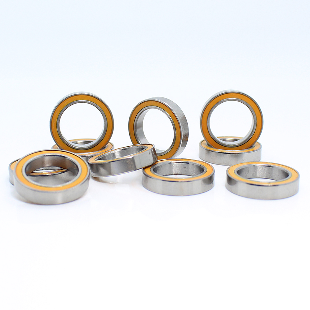 MR1319RS Bearing ABEC-3 (10PCS) 13*19*4 Mm Thin Section MR1319-2RS Ball Bearings RS MR1319 2RS With Orange Sealed L-1319DD