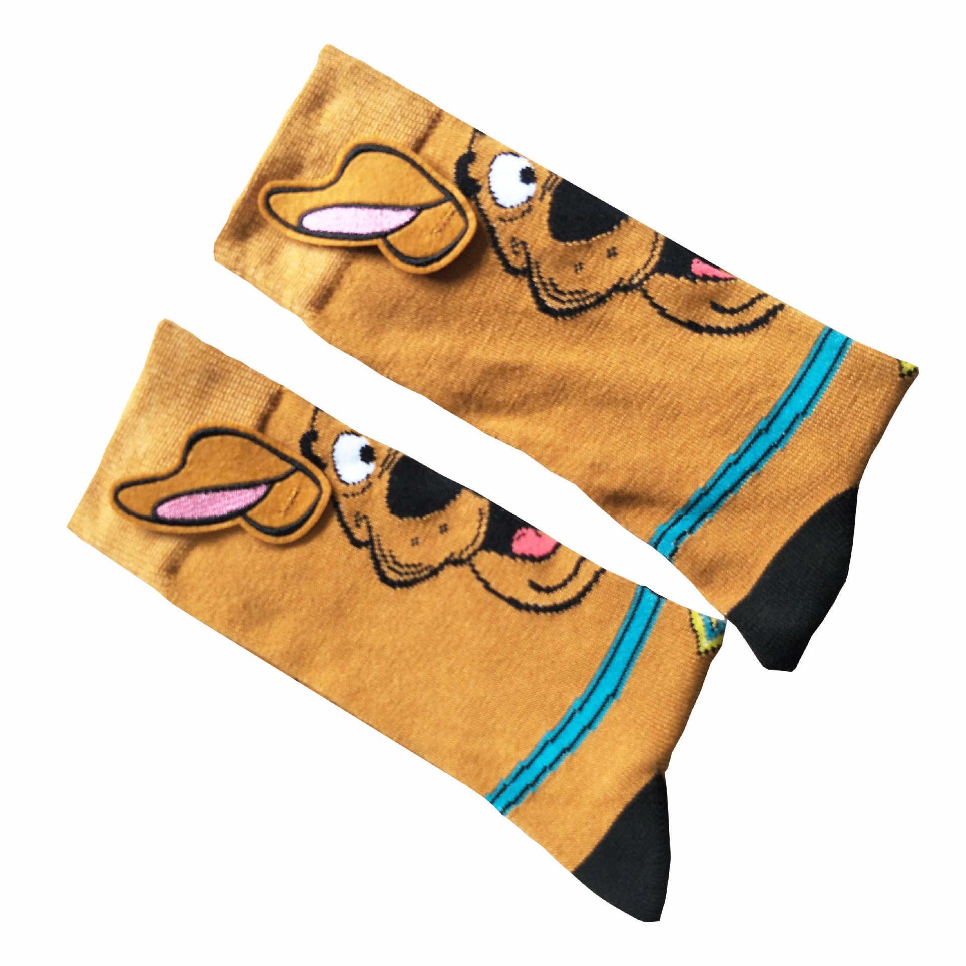 Divertente Per Adulti Casual Cute Dog Animal Calzini E Calzettoni Crew Calzini E Calzettoni di Modo Confortevole Cotone di Alta Qualità Calzini E Calzettoni