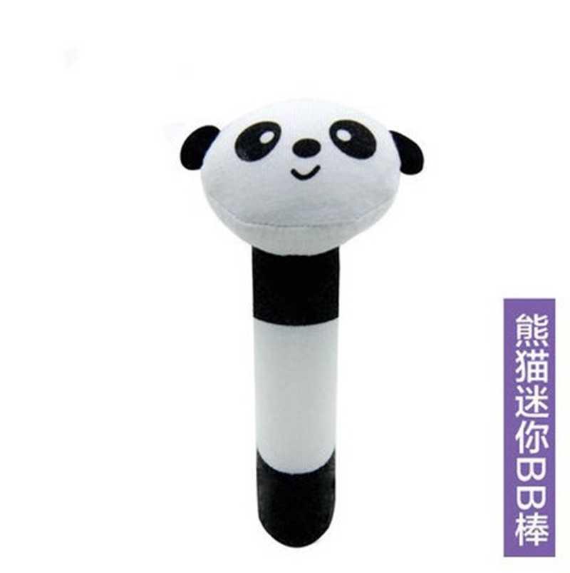 Animal Baby Toys 0-12 Months Kawaii Soft Bibi Sticks Crib Baby Carriage Plush Doll Newborn Rattles Educational Toys For Children