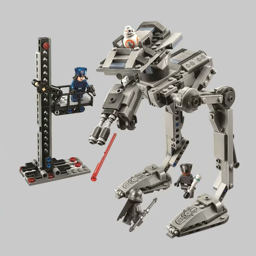 Bela 10912 388Pcs Star Wars series First Order AT-ST Building Blocks Bricks Kids Friends Toys Christmas gift 75201 1