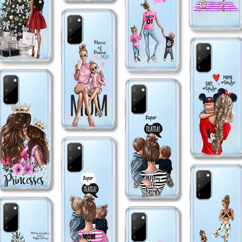 ciciber Super Mama Case For Samsung Galaxy A51 A50 S20 S10 A71 A70 A40 S9 S8 A30 S7 S10e Ultra Note 10 9 8 Edge Plus Silicone karl lagerfeld for samsung galaxy s6 s7 edge s8 s9 s10 plus lite note 8 9 10 a30 a40 a50 a60 a70 m10 m20 phone case cover etui