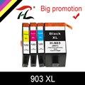 Чернильный картридж HTL 903XL для принтера HP 903XL, 903xl, hp 903xl, совместим с принтером HP Officejet Pro 6950, 6960, 6970, 6975