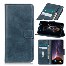 Two Color Crazy Horse Pattern wallet Leather Cover For Oneplus 8 8Pro 7 7Pro 7T 7TPro Case of