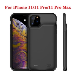 Heißer 10000mah Power bank fall Für iPhone 11 Pro fall Batterie Ladegerät Fall Für iPhone 11 Pro Max Power bank Lade Fall i11