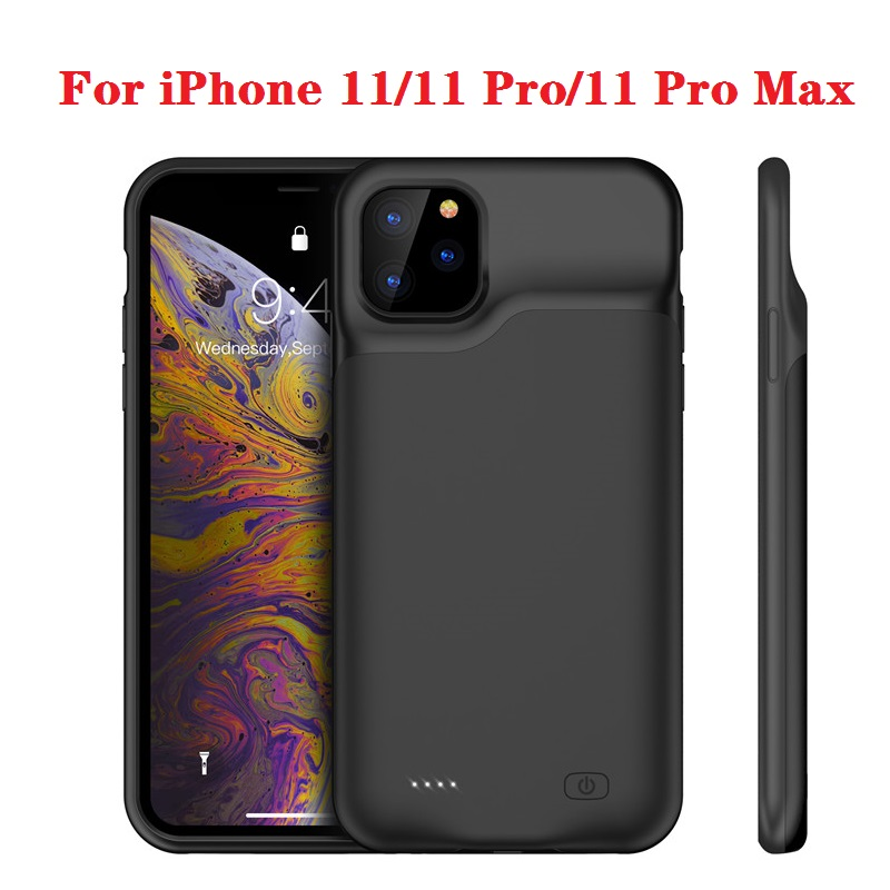 Hot 10000 Mah Power Bank Case Voor Iphone 11 Pro Case Batterij Oplader Voor Iphone 11 Pro Max Power bank Opladen Case I11