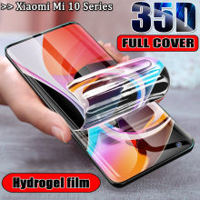 Hydrogel ฟิล์มสำหรับ xiaomi mi note 10 lite screen protector redmi note10 xaomi 10 pro ฟิล์ม xiami mi10 pro film note 10pro xiomi note 10lite(China)
