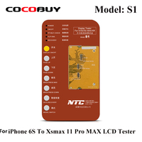 Novecel S1 Tester LCD OLED Mulitfunction Touch Panel Tester For iPhone 6s to Xsmax 11ProMax True Tone Color Light Repair Tools