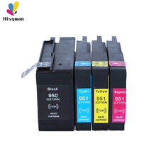 Hisywan 950XL 951XL Ink cartridge For HP 950 951 Officejet 8100 8600 8610 8615 8620 8625 8630 251dw 276dw Printer For HP950 картридж с чернилами yotat hp 8100 8600 8610 8620 8630 8640 8660 8615 8625 251dw 276dw for hp 950 printhead