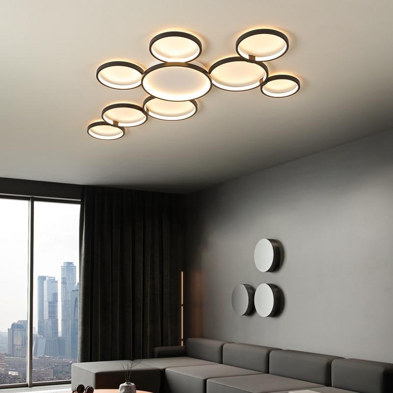 Новинка, осветительный прибор для гостиной, спальни, столовой, кабинета, офиса, с дистанционным управлением, креативный потолочный светильн...