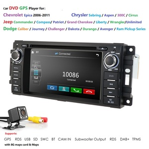 Hizpo 6.2inch HD Head Unit GPS Navigation Radio Stereo Car DVD Player for JEEP Patriot Compass/DODGE Journey/Chrysler Sebring BT(China)