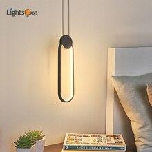Post-modern bedroom bedside pendant lights minimalist restaurant bar creative image pendant lamp