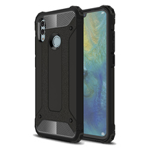 Luxury Silicone Shockproof Phone Case Honor10 lite P smart 2019 Rugged Armor Cover For Huawei y6 Honor 7C Bumper