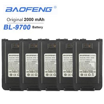 5PCS New Baofeng Waterproof BF-9700 Battery  For UV-9R Plus BF-A58 UV-8Plus BF-R6 UV960 S56MAX 9RSR Radio Walkie Talkie Batterie