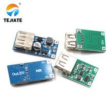 DC-DC adjustable boost voltage regulator module board 0.9V~5V boost 5V 600MA USB battery booster board diy