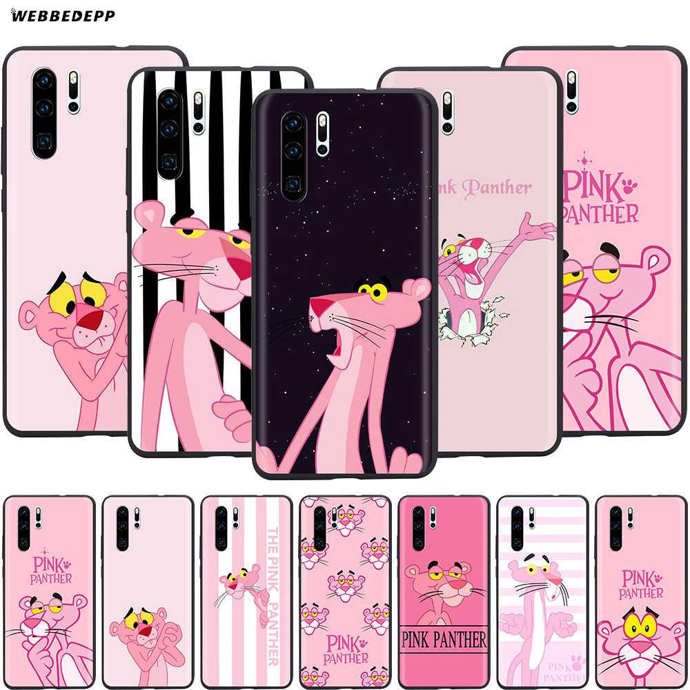 Webbedepp hermosa Pantera Rosa caso de Huawei P8 P9 P10 P20 P30 Lite Pro P Smart Z 2019 Mini 2019