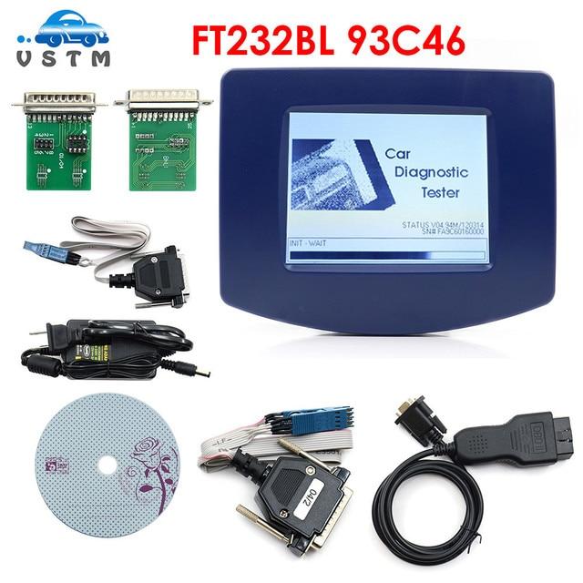 NEW Digiprog 3 with FTDI FT232BL v4.94 OBD DIGIPROG III Odometer adjust programmer Digiprog3 Mileage Correct Tool  Free Shipping