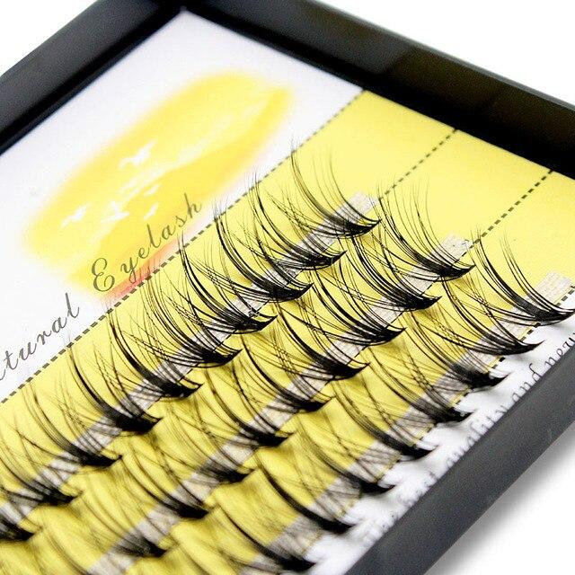 Kimcci Super Bundles 3D Mink Individual Eyelash Extension False 20D Russian Volume Cluster Lashes Natural Faux Makeup Eyelashes 2