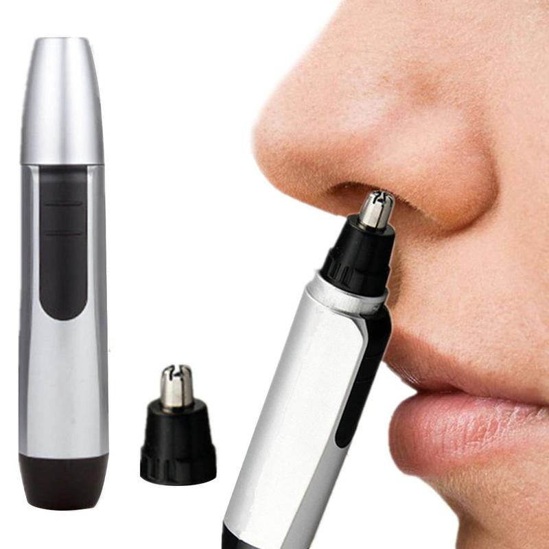 Electric Nose Hair Trimmer For Men's Shaver Rechargeable Hair Removal Eyebrow Trimer Safe Lasting Face Care Tool Kit