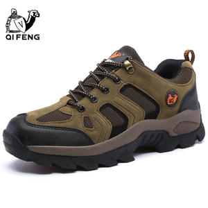 Image 2 - Men Women Outdoor Sports Hiking Shoes Breathable Mountain Climbing Footwear Trekking Sneakers Classic Casual Boots Couple Gift