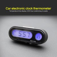Pequeno portátil digital viagens despertador automotivo cronômetro eletrônico eua