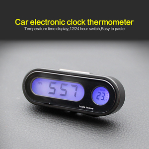 Portable 2 in 1 Car Digital LC