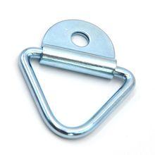 Новое кольцо для крепления, Оцинкованное кольцо швартовки для Ван-лодок, фургон для лошадей, грузовиков, трейлеров